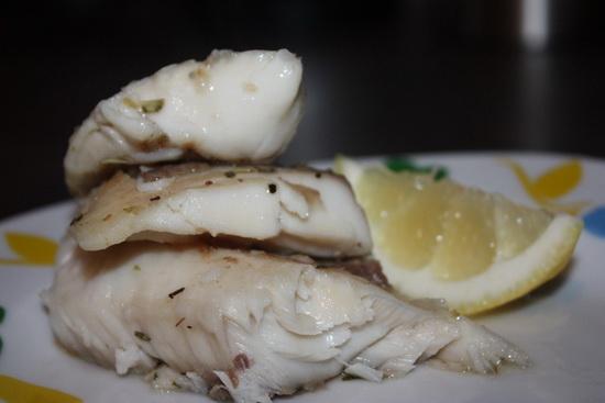 Филе хека, семги и трески на пару в мультиварке – готовим морскую рыбу 2