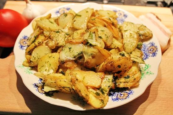 Жарим картофель в мультиварке - с курицей, грибами, свининой, фри 4