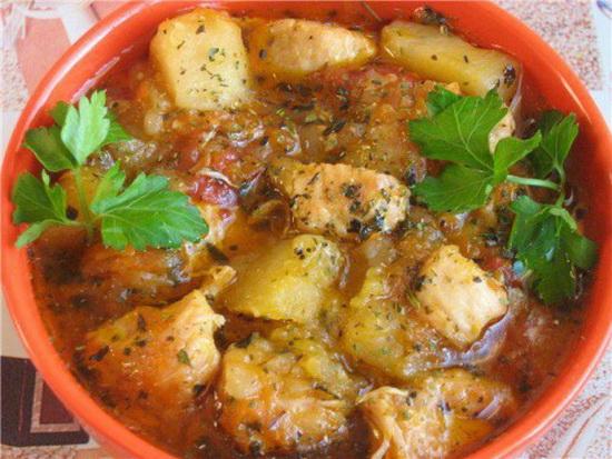 Жаркое из говядины, курицы, индейки, свинины с картошкой в мультиварке – новые рецепты 2