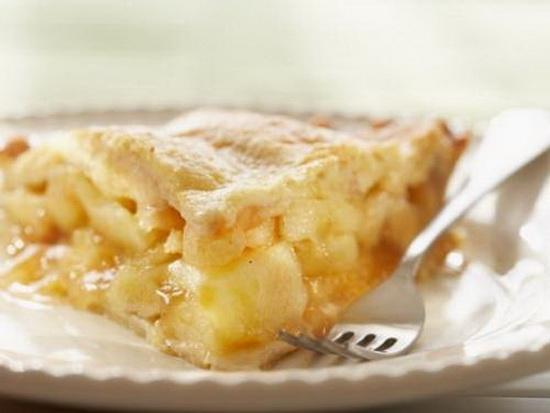 Шарлотка с яблоками на кефире - печем в мультиварке 4