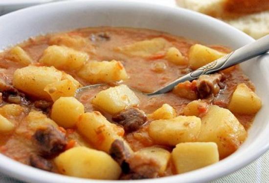 Тушеный картофель с говядиной в мультиварке – несколько рецептов 2