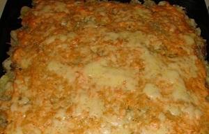 Тушеная и запеченная картошка с фаршем в мультиварке 1