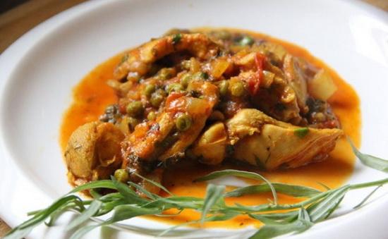 Грузинский рецепт чахохбили из курицы с картошкой и без картошки в мультиварке 3