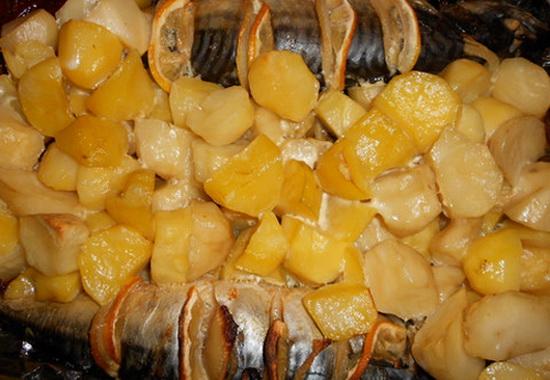 Рецепты скумбрии в мультиварке с картофелем - как вкусно приготовить скумбрию 3