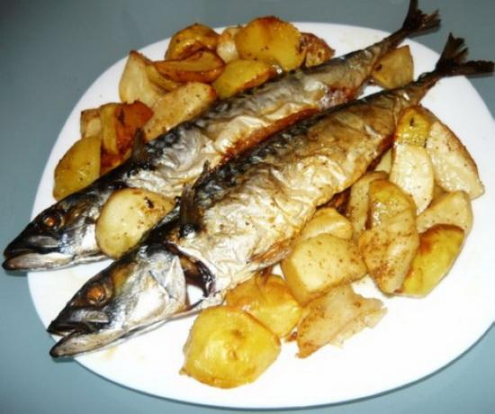 Рецепты скумбрии в мультиварке с картофелем - как вкусно приготовить скумбрию 4