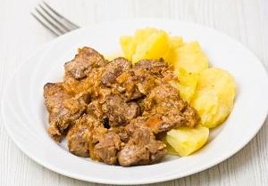 Картошка с куриной печенкой в мультиварке – готовим вкусный обед 1
