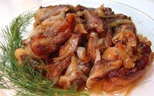 Готовим баранину - тушеные бараньи ребра в мультиварке с картофелем и кашей 1