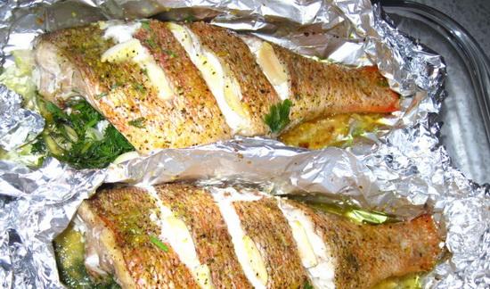 Запекаем в фольге в мультиварке индейку, рыбу, картошку, куриное филе, свиную шейку 3