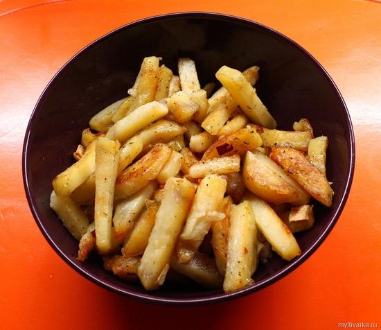 Как сделать жареную картошку в мультиварке polaris