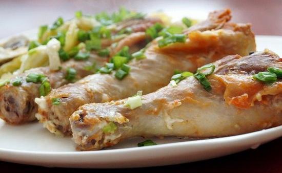 Куриные ножки с грибами и картофелем в мультиварке - жарим и запекаем в рукаве и фольге 2