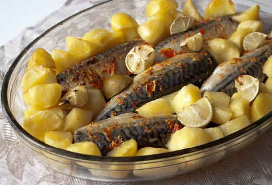 Рецепты скумбрии в мультиварке с картофелем - как вкусно приготовить скумбрию 2